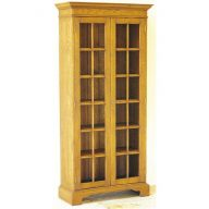 Tall display cabinet.